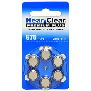 HearClear HearClear 675 Premium Plus - 10 pakjes