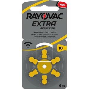 Rayovac Rayovac 10 Extra Advanced - 10 pakjes