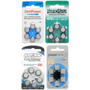 675+ cochleair proefpakket 4 pakjes diverse merken