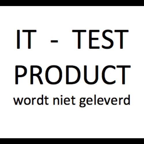 Testproduct (wordt niet geleverd)