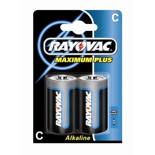 Rayovac Rayovac Maximum Plus Alkaline C Baby (LR14) - 1 pakje