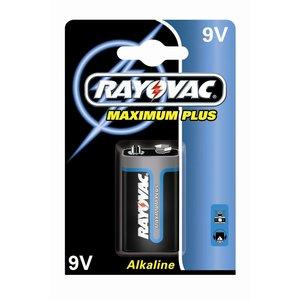 Rayovac Rayovac Maximum Plus Alkaline 9V E-Blok (LR61) - 1 pakje