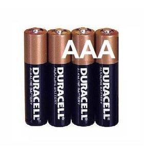 Duracell Duracell Alkaline AAA Micro (LR3) - 1 Packung (4 Batterien)