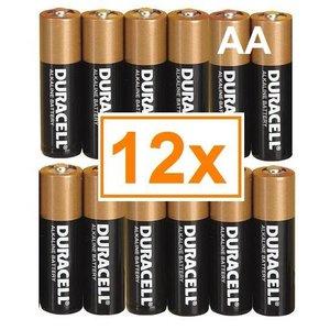 Duracell Duracell Alkaline AA Penlite (LR6) - 1 pakje (12 batterijen)