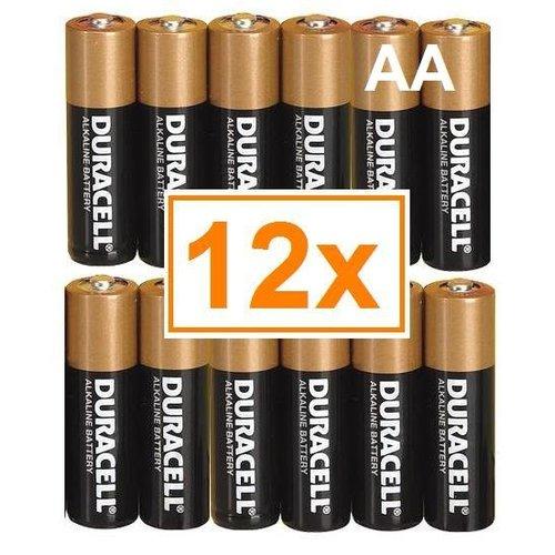 Duracell Duracell Alkaline AA Mignon (LR6) - 1 pack (12 batteries)