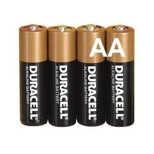 Duracell Duracell Alkaline AA Mignon LR6 - 1 Packung (4 Batterien)