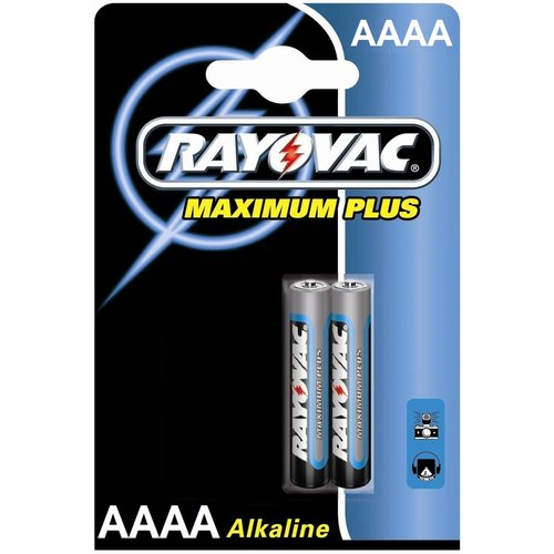 Rayovac Rayovac Maximum Plus Alkaline AAAA Mini (LR8D425) - 1 pack