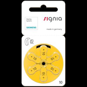 SIEMENS Signia SIEMENS s10 – 20 packs