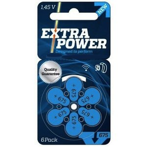 Extra Power (Budget) Extra Power 675 - 20 Päckchen Hörbatterien (TOP ANGEBOT)