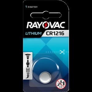 Rayovac Rayovac Lithium CR1216 3V knoopcel  - 1 pakje
