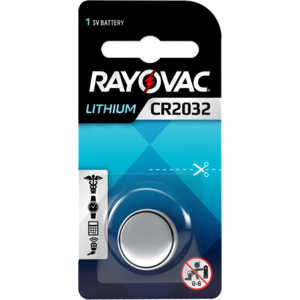 Rayovac Rayovac Lithium CR2032 3V button cell Blister 1 - 1 pack