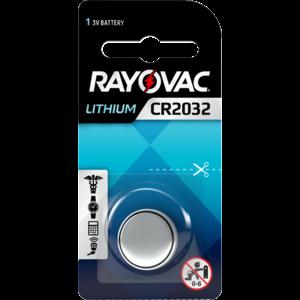 Rayovac Rayovac Lithium CR2032 3V knoopcel  - 1 pakje