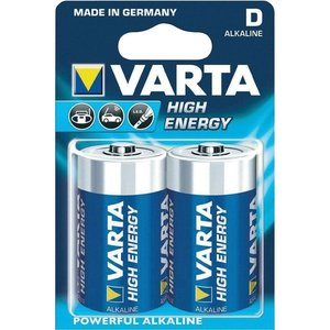 Varta Varta Alkaline High Energy D LR20 4920 1.5v 16500 mAh - 1 pack 2 batteries