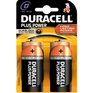 Duracell Duracell Alkaline Plus Power Duralock D Mono (LR20) - 1 pack (2 batteries)