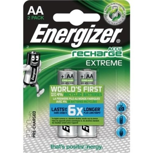 Energizer Energizer Recharge Extreme AA 2300mAh (HR6) - 1 pack (2 batteries)