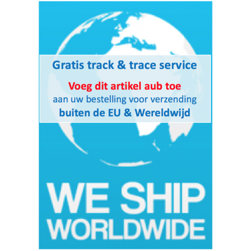 Free Track & trace for Worldwide Shipping (OUTSIDE EU ONLY)