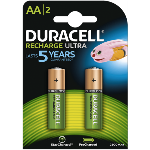 Duracell Duracell AA 2500mAh rechargeable (HR6) - 1 pack (4 batteries)