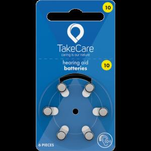 Take Care TAKE CARE 10 - 1 PÄCKCHEN (BUDGET HÖRBATTERIEN)