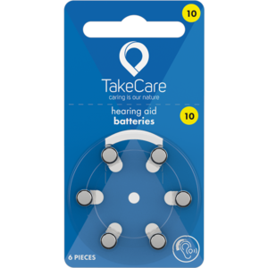 Take Care TAKE CARE 10 - 10 PÄCKCHEN (BUDGET HÖRBATTERIEN)