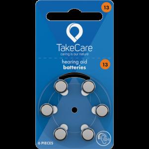 Take Care TAKE CARE 13 - 1 PÄCKCHEN (BUDGET HÖRBATTERIEN)