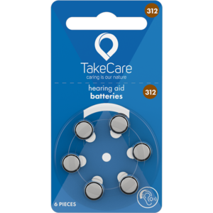 Take Care TAKE CARE 312 - 1 PACK (BUDGET BATTERIES)