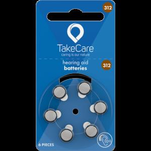 Take Care TAKE CARE 312 - 1 PÄCKCHEN (BUDGET HÖRBATTERIEN)