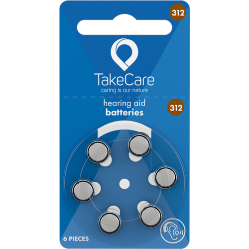 Take Care TAKE CARE 312 - 10 PAKJES (BUDGET BATTERIJEN)