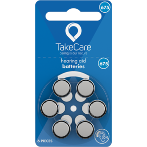 Take Care TAKE CARE 675 - 1 PÄCKCHEN (BUDGET HÖRBATTERIEN)
