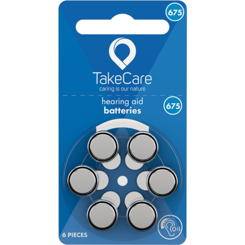 Take Care TAKE CARE 675 - 10 PAKJES (BUDGET BATTERIJEN)