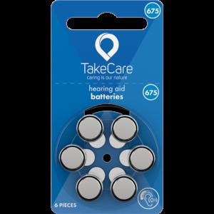 Take Care TAKE CARE 675 - 20 PÄCKCHEN (BUDGET HÖRBATTERIEN)