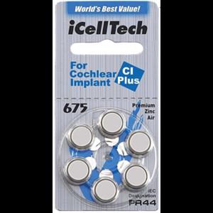 iCellTech iCellTech 675 CI Plus für Cochlear Implant - 50 Päckchen
