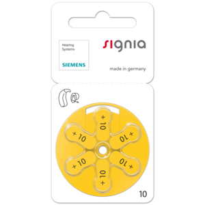 SIEMENS Signia SIEMENS s10 - 10 Päckchen