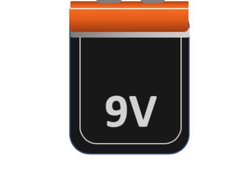 9 Volt (LR61) (E-Block) Alkaline