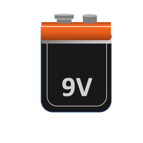 9 Volt (LR61) (E-Blok) Alkaline