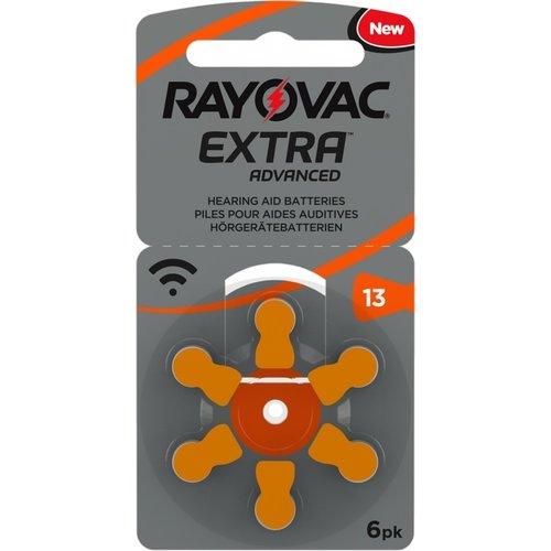 Rayovac Rayovac 13 Extra Advanced - 5 Päckchen + 1 kostenlos (36 Batterien)