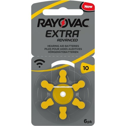 Rayovac Rayovac 10 Extra Advanced – 15 packs + 3 free (108 batteries)