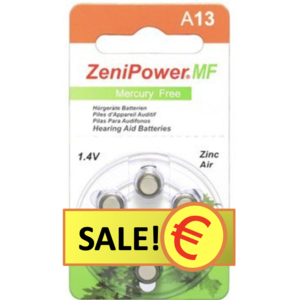 ZeniPower ZeniPower A13 – 10 packs