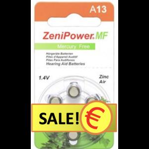 ZeniPower ZeniPower A13 - 20 Päckchen