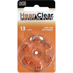 HearClear HearClear 13 Premium Plus - 1 pakje