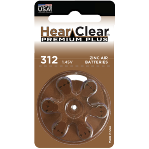 HearClear HearClear 312 Premium Plus - 1 pakje