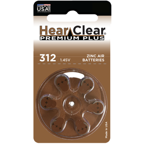 HearClear HearClear 312 Premium Plus – 20 packs