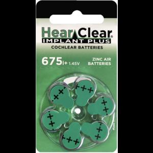 HearClear HearClear 675i+ Implant Plus - 1 pakje