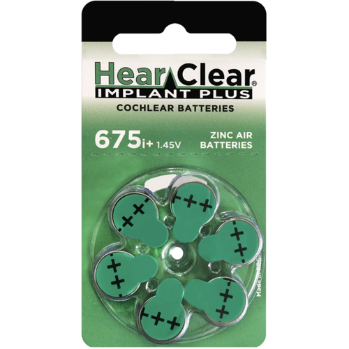 HearClear HearClear 675i+ Implant Plus - 50 Päckchen