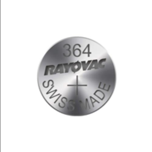 Rayovac Rayovac Silver 364 QX 1,55V knoopcel - karton 10 batterijen
