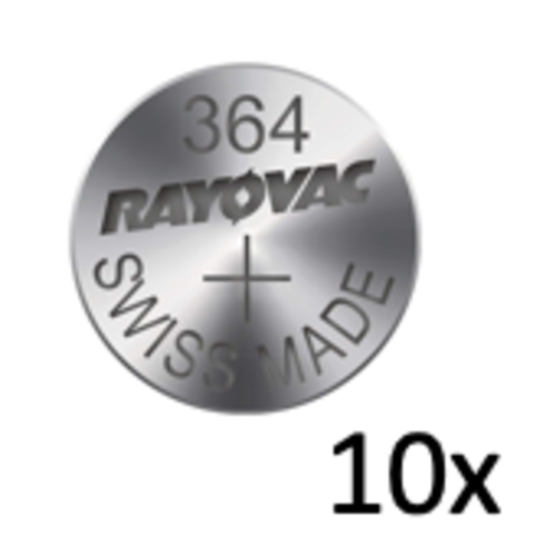 Rayovac Rayovac Silver 364 QX 1,55V button cell - carton 10 batteries