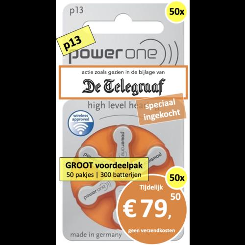 PowerOne PowerOne p13 - 50 pakjes