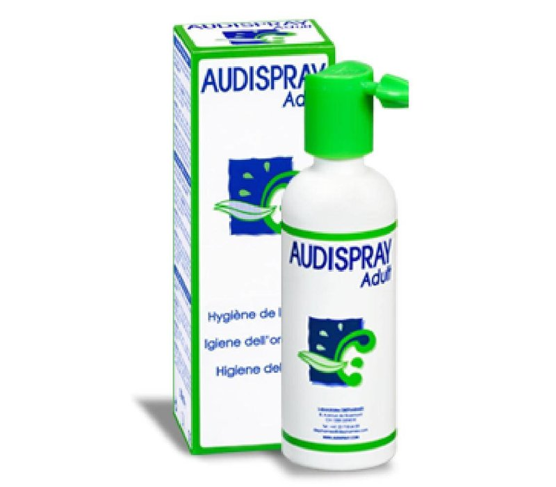 Audispray Adult - Nettoyant contre le cérumen en vaporisateur
