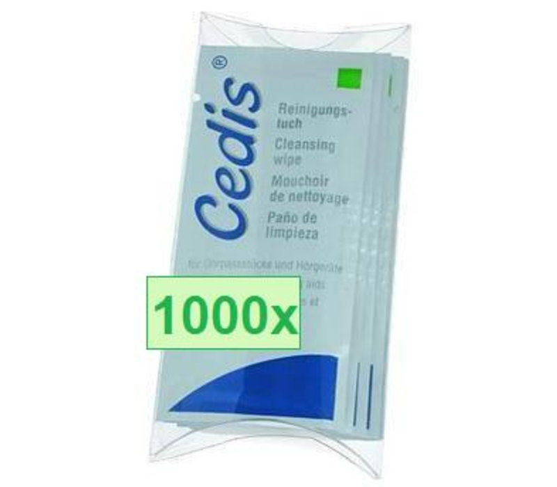 Cedis cleansing wipes - wholesale carton 1000x