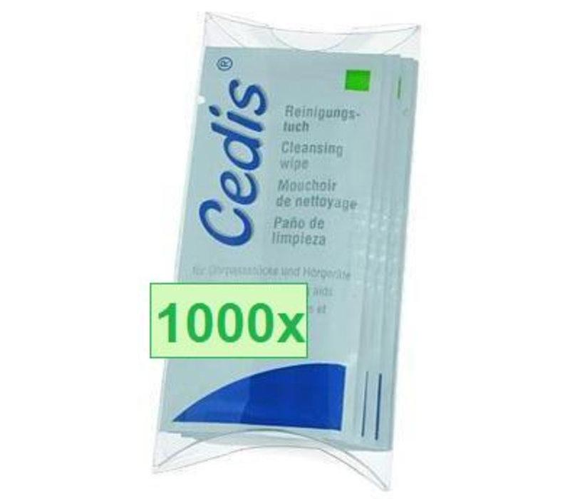 Lingette de nettoyage Cedis (box 1000 pièces)