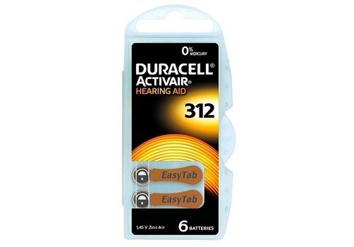 Duracell Duracell 312 Activair EasyTab - 20 pakjes